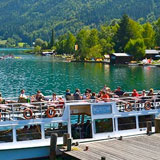 Charter trips on Weissensee